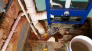 trockenbau fließen Wasser