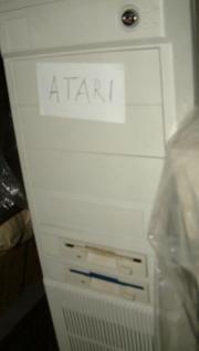 umgebauter Atari zu
