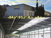 Verkaufe gebrauchte Stahlhalle