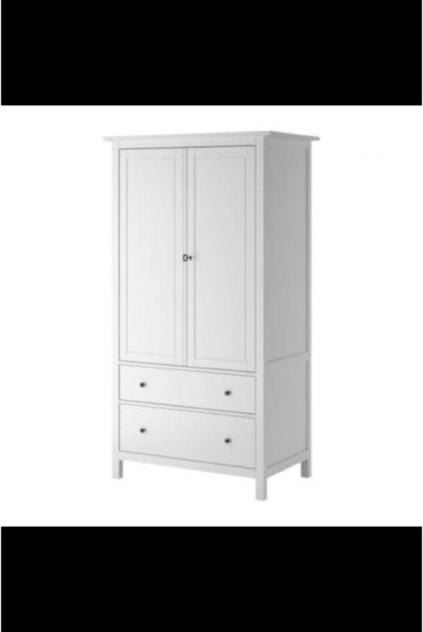 verkaufe ikea hemnes kleiderschrank wei wie neu in mannheim ikea m bel kaufen und. Black Bedroom Furniture Sets. Home Design Ideas