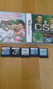 verschiedene DS Spiele