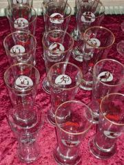 Verschiedene Gläser für