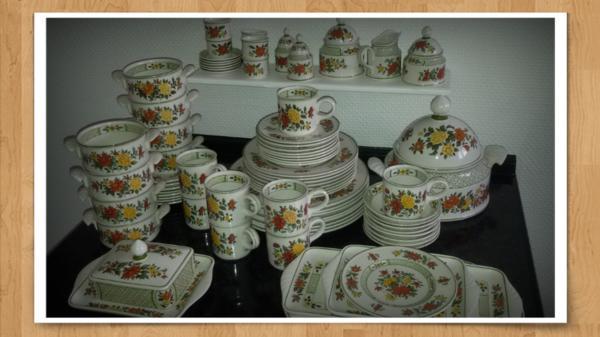 Villeroy&Boch Porzellan Summerday 80 Teile gebraucht kaufen  60528 Frankfurt