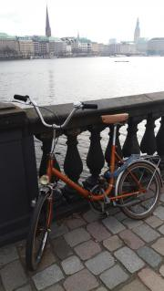 Vintage Fahrrad, in