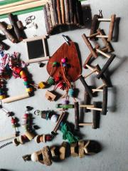Vogel-Spielzeug Spielsachen