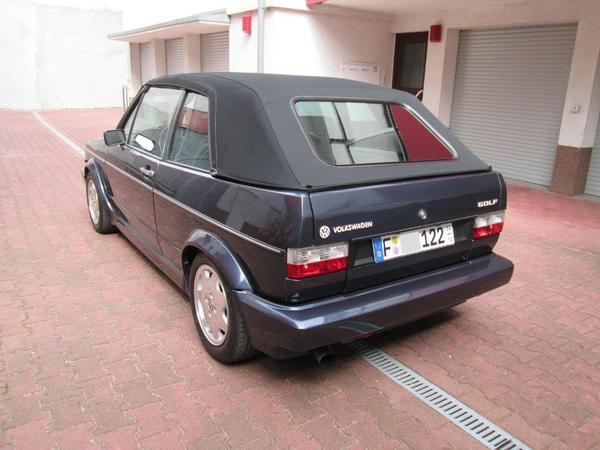 volkwagen golf 1 cabriolet top zustand d 39 occasion de 1991 169 996 km 2 690. Black Bedroom Furniture Sets. Home Design Ideas