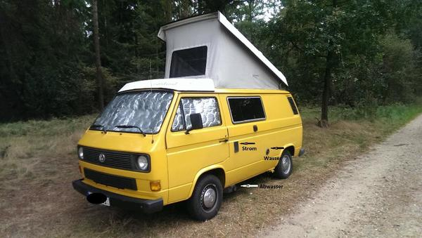 vw t3 westfalia camper top zustand in nordhausen vw bus. Black Bedroom Furniture Sets. Home Design Ideas