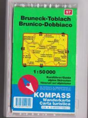 Wanderkarte Bruneck-Toblach