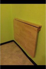 wandklapptisch in erlangen haushalt m bel gebraucht und neu kaufen. Black Bedroom Furniture Sets. Home Design Ideas