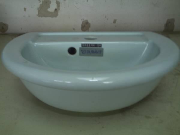 waschbecken handwaschbecken duravit greenwich pastellgr n. Black Bedroom Furniture Sets. Home Design Ideas
