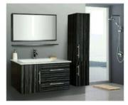 Waschbeckenunterschrank mit Spiegel,