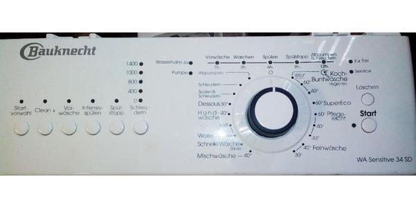 waschmaschine bauknecht steuerung elektronik teile in chemnitz waschmaschinen kaufen und. Black Bedroom Furniture Sets. Home Design Ideas
