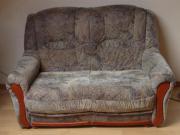 wenig genutzte Couchgarnitur