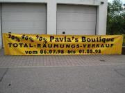Werbeplane -Banner -Transparent -