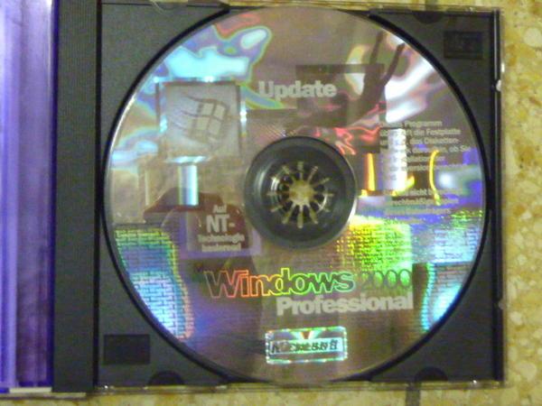windows 2000 professional update cd in m nchen software. Black Bedroom Furniture Sets. Home Design Ideas