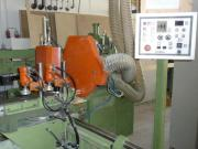 Winkelanlage Fenstermaschine Zapfenschneider