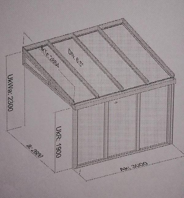 wintergarten vordach glasdach glas terassen berdachung. Black Bedroom Furniture Sets. Home Design Ideas