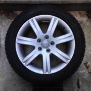 Winterräder, Reifen auf