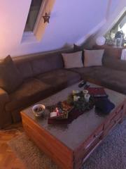 Wohnlandschaft / L-Couch