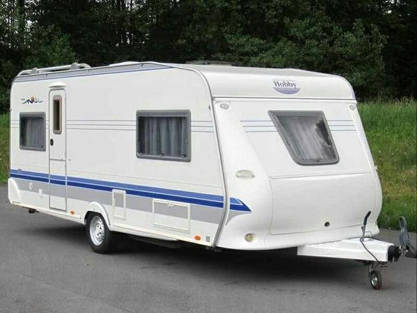 wohnwagen hobby 540 uf excellent easy in cottbus kaufen. Black Bedroom Furniture Sets. Home Design Ideas