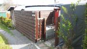 Wohnwagen mit Stellplatz
