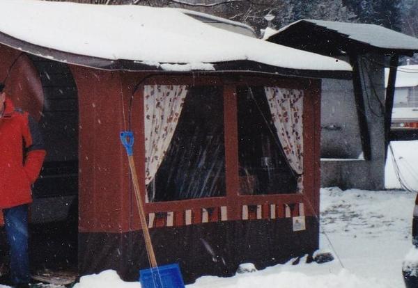 wohnwagen vorzelt kaufen gebraucht und g nstig. Black Bedroom Furniture Sets. Home Design Ideas
