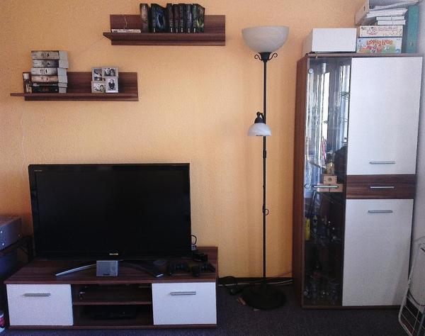 Schrankwand Wohnzimmer Gebraucht Vitrine