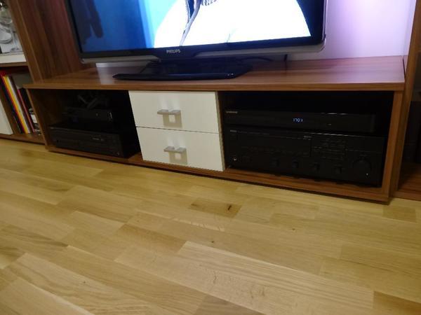 Wohnwand Schwarz Gebraucht :  Sideboard, Standregal und H?ngeElemente, gebraucht gebraucht kaufen