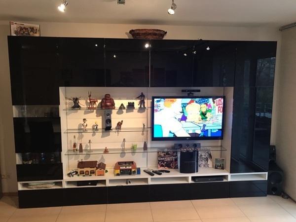 ikea wohnwand gebraucht kaufen 3 st bis 60 g nstiger. Black Bedroom Furniture Sets. Home Design Ideas