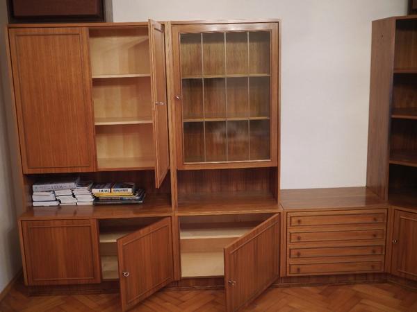 wohnzimmer schrankwand dunkelbraun holz guter zustand in neu isenburg wohnzimmerschr nke. Black Bedroom Furniture Sets. Home Design Ideas