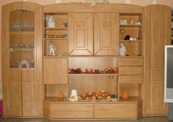 Wohnzimmerschrank buche wohnzimmerschrank buche in for Sideboard 3m lang