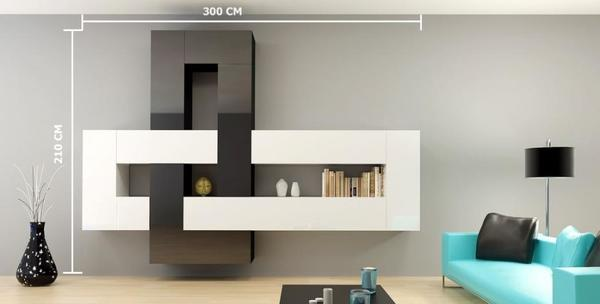 Awesome Moderne Wohnzimmer Schrank Ideas - House Design Ideas ...