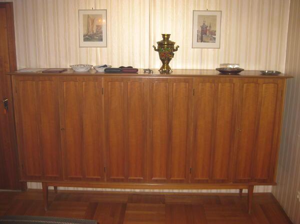 wohnzimmerschrank schrank echtholz in m nchen wohnzimmerschr nke anbauw nde kaufen und. Black Bedroom Furniture Sets. Home Design Ideas