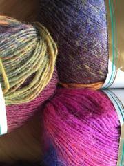 Wunderschöne Sockenwolle im