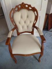 Wunderschöner Stuhl, handgeferttigt