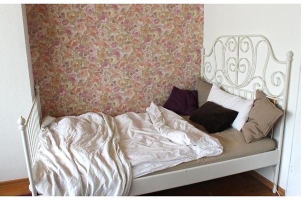 ikea bett leirvik quietscht. Black Bedroom Furniture Sets. Home Design Ideas