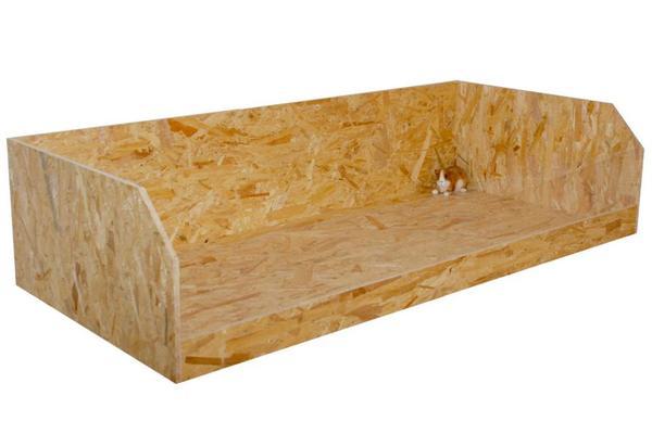 xl gehege stall k fig f r meerschweinchen 39 henrik 39 1 36m. Black Bedroom Furniture Sets. Home Design Ideas