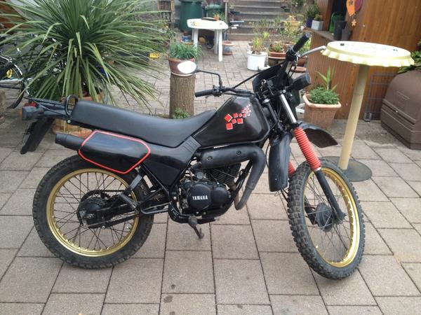 yamaha dt 50 mx moped mokick fahrbereit in w rth mofas. Black Bedroom Furniture Sets. Home Design Ideas