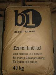 Zementmörtel 5 - 30