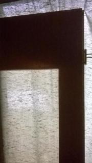 Zimmertüre verglast