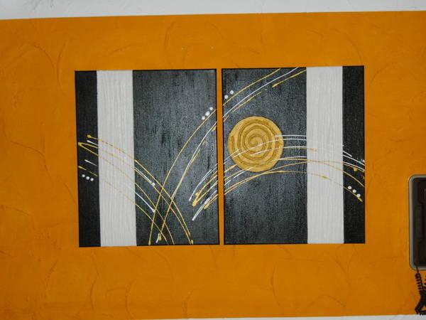 Dekoartikel zwei 2 tlg moderne acrylbilder for Moderne dekoartikel