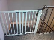 Zwei Geuther Treppenschutzgitter,