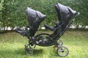 Zwillings- Geschwisterkinderwagen ABC