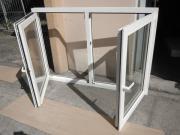 1 Doppelfenster-Kunststofffenster-
