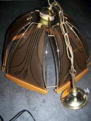 1 Wohn-Eßzimmerlampe aus den 90-zigern