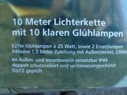 10 Meter Lichterkette