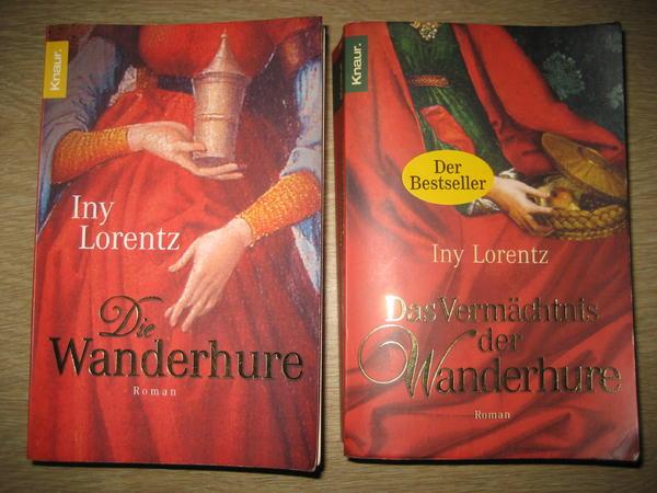 2 Bücher Die Wanderhure und