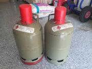 2 Propangas Flaschen -