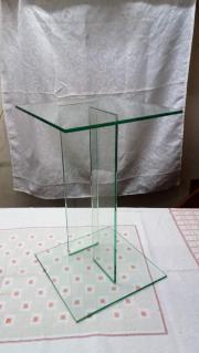 2 Stück Glassäulen