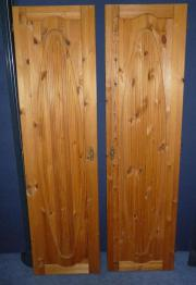 2 Stück Schranktüren Holz Schrank